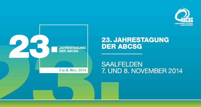 23. Jahrestagung der ABCSG 2014