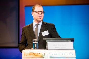 ABCSG-Vorstandsmitglied Ass.-Prof. Priv.-Doz. Dr. Rupert Bartsch beschäftigte sich in seiner Zusammenschau auch mit der generischen Studienplattform I-SPY 2, die bewiesen hat, dass eine erfolgreiche Evaluierung von Medikamenten möglich ist.