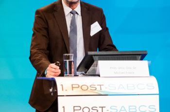 ABCSG-Vorstandsmitglied Prim. Univ.-Doz. Dr. Michael Fridrik liefert die aktuellen NCCN- und ESMO-Guidelines.