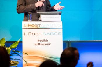 Dr. Simon Gampenrieder, ABCSG-Prüfarzt in Salzburg, berichtete über die translationalen Forschungsergebnisse und den prognostischen Wert der residualen Tumorlast (residual cancer burden – RCB),