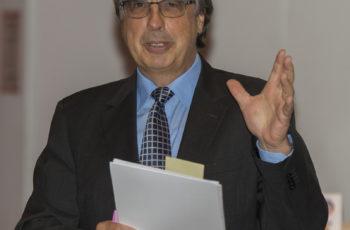 ABCSG-Vorstandsmitglied und Vorsitzender des Abends: Univ.-Prof. Dr. Hellmut Samonigg