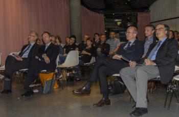 Über 30 BesucherInnen kamen in den Space04 im Kunsthaus Graz.