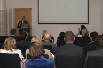 Prim. Univ.-Prof. Dr. Josef Thaler gibt einen Überblick über die Aktivitäten der Colorectal Branch der ABCSG.