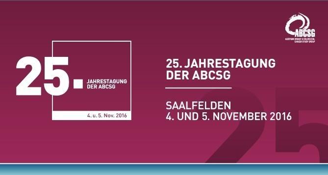 25. Jahrestagung der ABCSG