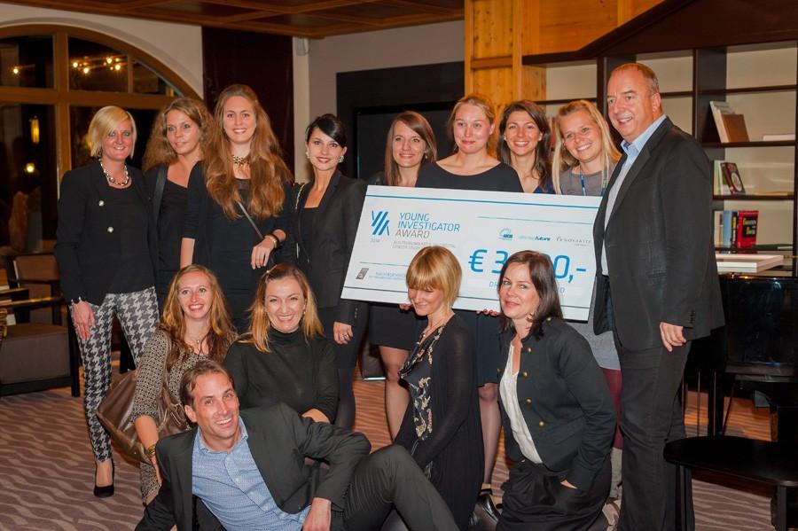Das Team Innsbruck mit dem ABCSG-Präsidenten.