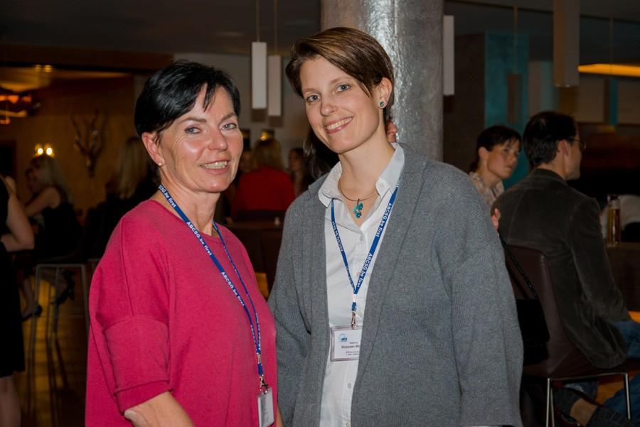 Engagierte Ärztinnen vom Wilhelminenspital: OA Dr. Beate Stocker und OA Dr. Kathrin Strasser-Weippl (v.l.n.r.).