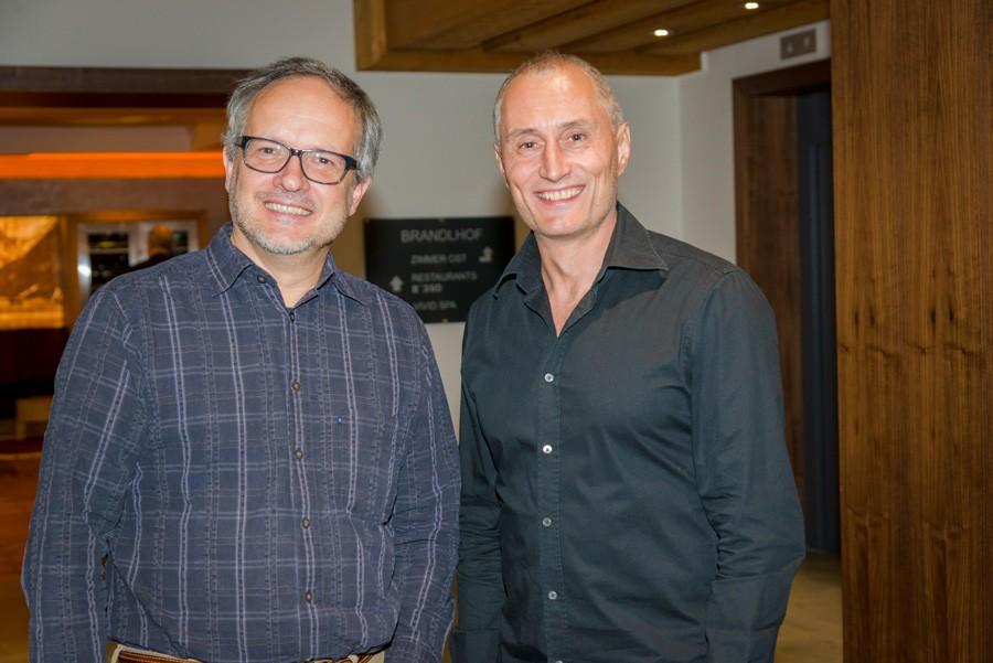 Translationelle Expertise: Univ.-Prof. Mag. Dr. Rudolf Oehler und ABCSG-Vorstandsmitglied Assoz. Prof. Mag. Dr. Martin Filipits (v.l.n.r.).