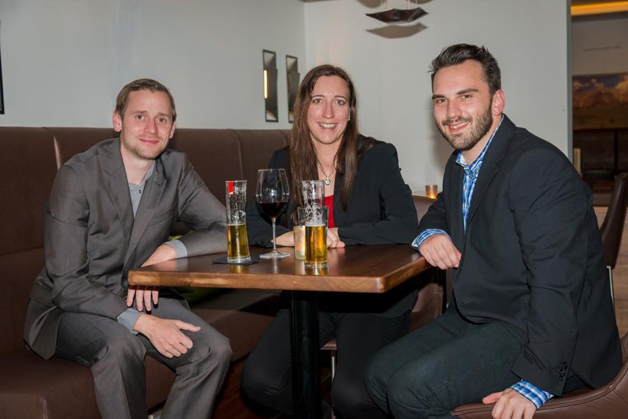 Sorgt auch in Saalfelden für optimalen technischen Support – das Team RMC: Martin Zöchmeister, Daniela Makoschitz und Philipp Schmidt (v.l.n.r.).