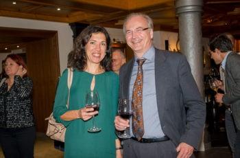 Gute gelaunt: die beiden ABCSG-Vorstandsmitglieder aus Graz Assoz. Prof. Priv.-Doz. Dr. Marija Balic und Univ.-Prof. Dr. Herbert Stöger.
