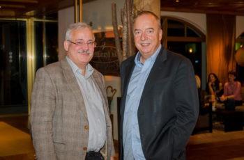 Univ.-Prof. Dr. Günther Steger mit Univ.-Prof. Dr. Michael Gnant.