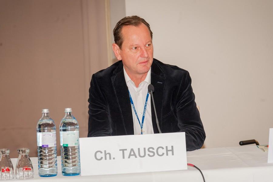 Aus Zürich angereist: ABCSG-Vorstandsmitglied Dr. Christoph Tausch.