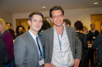 Die beiden abcsg.future-Stipendiaten Dr. Paul Schlagnitweit aus Linz und Dr. Christoph Suppan aus Graz (v.l.n.r.).