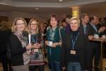 Gute Stimmung bei den ABCSG-Monitorinnen: DI Andrea Breit-Cerncic (Quality Assurance), Mag. Nadine Rapp, Dr. Monika Penzinger (ehemalige ABCSG-Mitarbeiterin) und DI Bettina Vötsch (v.l.n.r.)