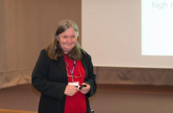 Univ.-Prof. Dr. Margaretha Rudas spricht Tacheles: Ohne Informationen von Study Nurses kann der Pathologe nicht arbeiten