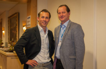 ABCSG-Vorstandsmitglieder Univ.-Prof. Dr. Florian Fitzal, Dr. Christoph Tausch (v.l.n.r.)