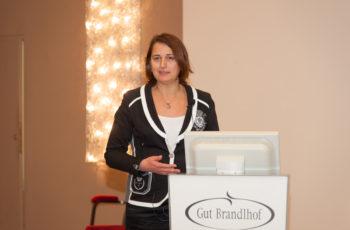 Assoz.-Prof. Dr. Vesna Bjelic-Radisic bei ihrem Vortrag über ABCSG-09