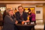 Die Stimmung am Abend war ausgezeichnet: ABCSG-Vorstandsmitglieder Priv.-Doz. OA Dr. Brigitte Mlineritsch und Univ.-Prof. Dr. Richard Greil