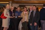 ABCSG-Vorstandsmitglied Prim. Univ.-Doz. Dr. Michael Fridrik umgeben von gut gelaunten KollegInnen