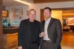 Entspannt: Präsident Univ.-Prof. Dr. Michael Gnant und Leiter des ABCSG Trial Office Mag. Hannes Fohler