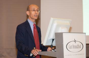 Univ.-Doz. Dr. Ahmed Ba-Ssalameh durfte über das komplexe Thema der radiologischen Einschätzung von Pankreastumoren länger sprechen
