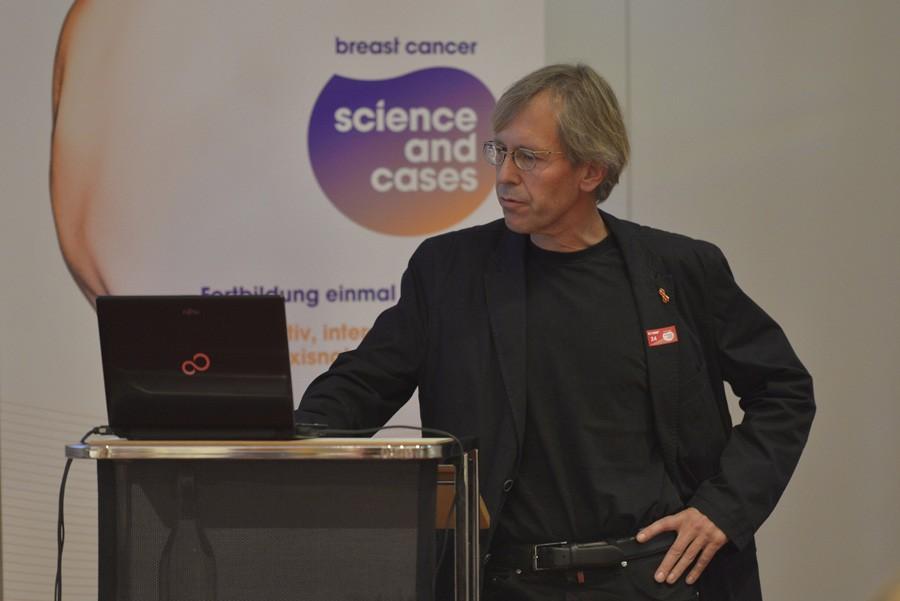 OA Dr. Manfred Kanatschnig brachte einen Fall über metastasierten Brustkrebs in der 2nd-Line-Therapie
