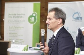 Erläuterte auch den ökonomischen Aspekt: Prim. Univ.-Prof. Dr. Richard Greil.
