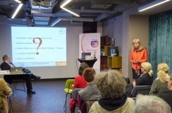 Herausforderung für Nicht-GynäkologInnen: Präsentation von OÄ Dr. Ursula Denison.