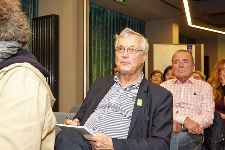 Kurzfristig verpflichtet: Gruppensprecher des grünen Teams Univ.-Prof. Dr. Georg Reiner.