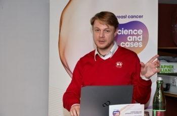 Assoz. Prof. Priv.-Doz. Dr. Georg Pfeiler stellte einen Fall mit metastasiertem Mammakarzinom und Erstlinientherapie vor.