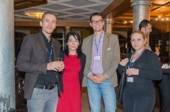 Salzburg-Linz-Connection: Dr. Simon Gampenrieder, Dr. Felicitas Vlad-Rusen, Dr. Franz Romeder und Dr. Bianca Radl (v.l.n.r.).
