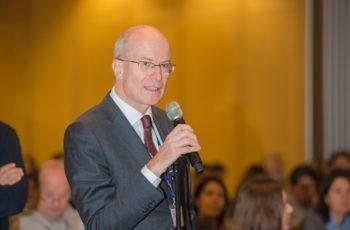 Es gab einigen Nachfragebedarf im Publikum: Prim. Univ.-Prof. Dr. Sigurd Lax.