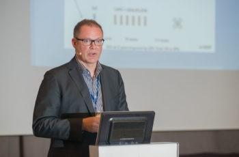 Univ.-Prof. Dr. Wolfgang Eisterer lieferte dem Publikum einen umfassenden Überblick über aktuelle Studien im Bereich Rektumkarzinom.
