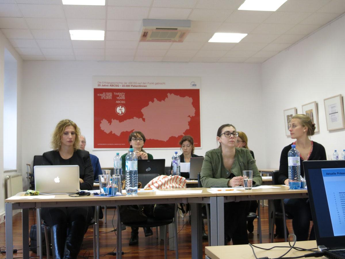Mit 7 TeilnehmerInnen die ideale Gruppengröße für interaktives Lernen.