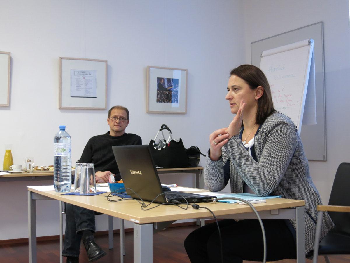 Eingespieltes Team: Assoz. Prof. Priv.-Doz. Dr. Vesna Bjelic-Radisic von der Frauenklinik Graz und OA Univ.-Doz. Dr. Peter Schrenk, Chirurg am AKH Linz.