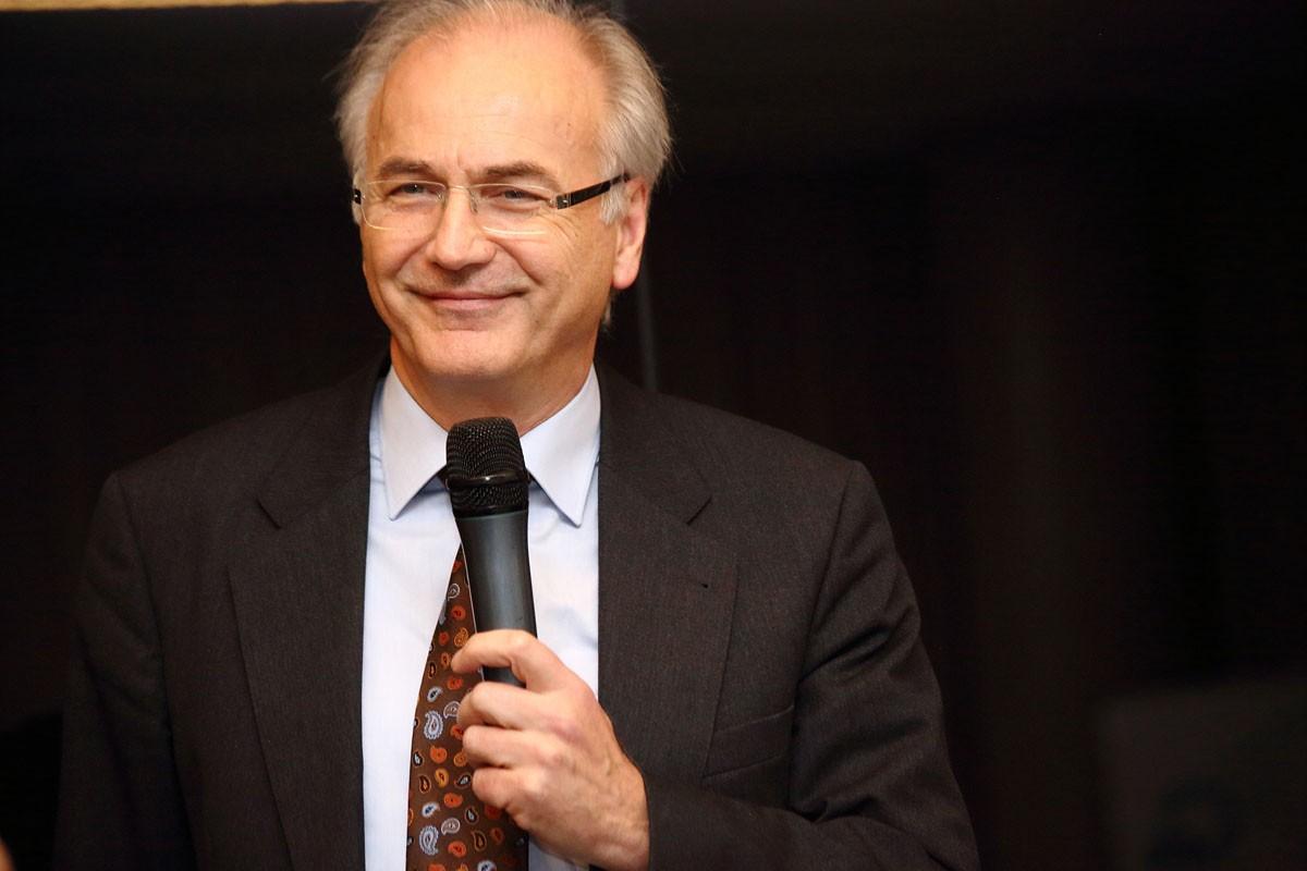 Vorsitzender Univ.-Prof. Dr. Herbert Stöger war bester Laune.