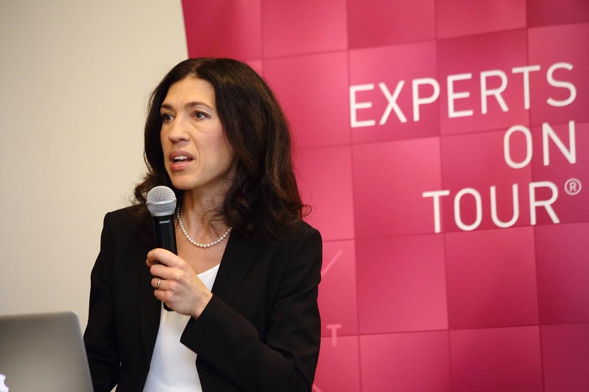Assoz. Prof. Priv.-Doz. Dr. Marija Balic erläuterte systemische Therapieoptionen.