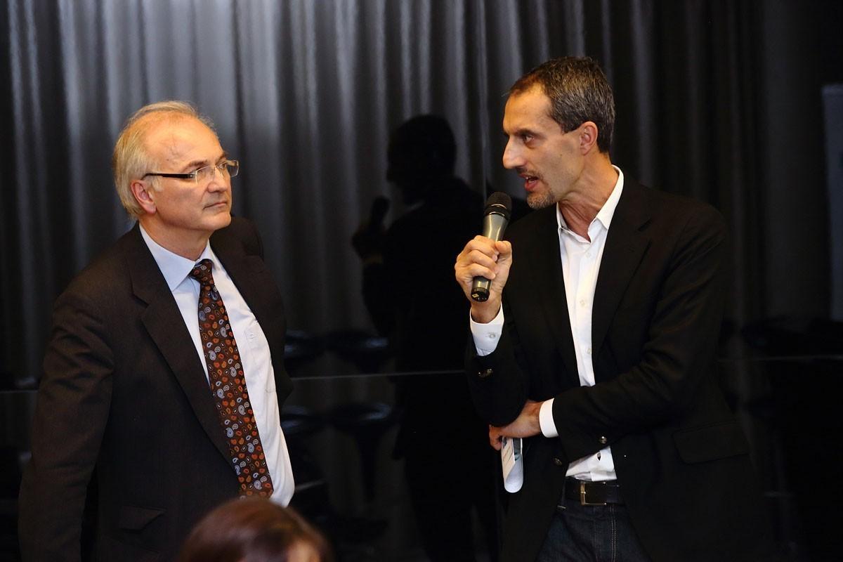 Führten durch den Abend: Univ.-Prof. Dr. Herbert Stöger und Univ.-Prof. Dr. Arnim Bader als Vorsitzende.