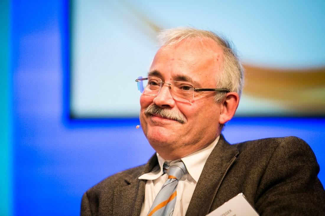 Univ.-Prof. Dr. Günther Steger ist mit der Diskussion zufrieden.