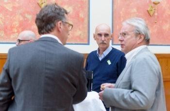 Extra aus Wien angereist: Dr. Gerhard Loncsar (Mitte).