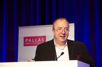 ABCSG-Präsident und Trail Co-Chair Michael Gnant begrüßt TeilnehmerInnen aus aller Welt …