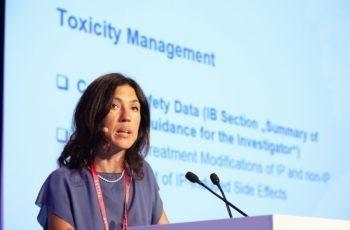 Marija Balic referierte über das Toxizitätsmanagement innerhalb von ABCSG 42/PALLAS.
