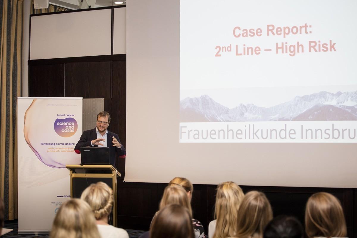 Beschloss die Fallpräsentationen mit einem heraufordernden Case Report aus 2012: OA Dr. Daniel Egle.