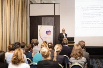 "Schon ein Profi bei ""Science and Cases"": OA Priv.-Doz. Dr. Hannes Müller, Gruppensprecher der Grünen."