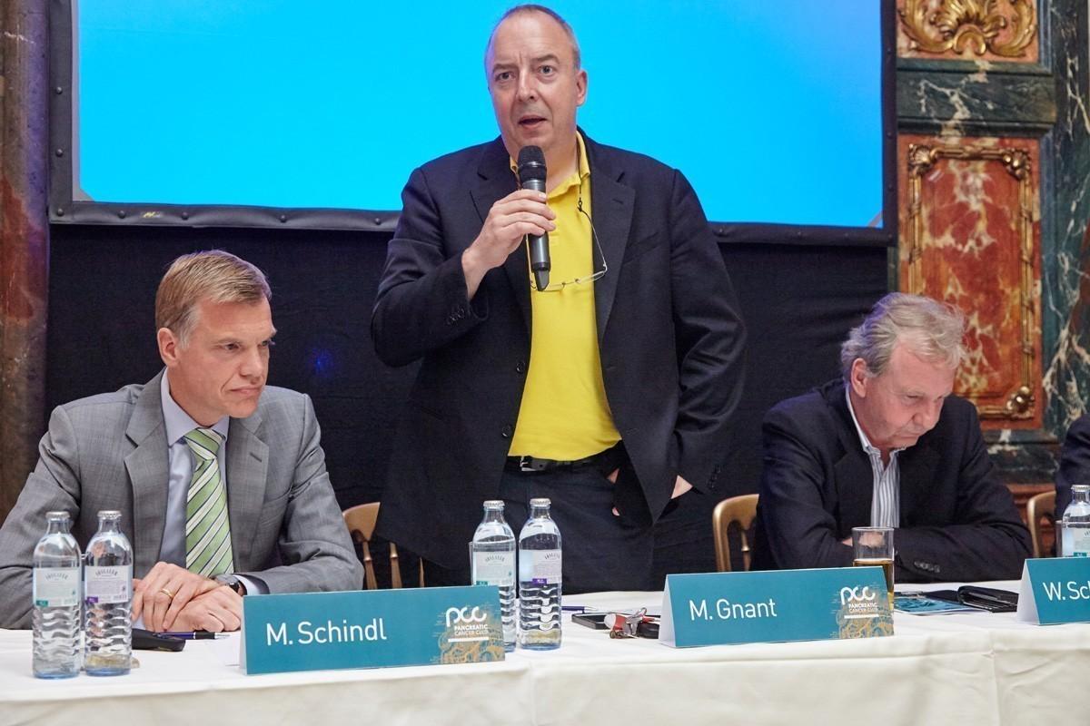 ABCSG-Präsident Univ.-Prof. Dr. Michael Gnant eröffnet den ersten Pancreatic Cancer Club.