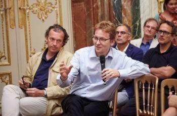 Co-Präsentator Prim. Univ.-Doz. Dr. Ansgar Weltermann beantwortet Unklarheiten bereitwillig.