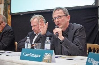 Und auch hier wurde debattiert: Prim. Univ.-Prof. Dr. Felix Sedlmayer.