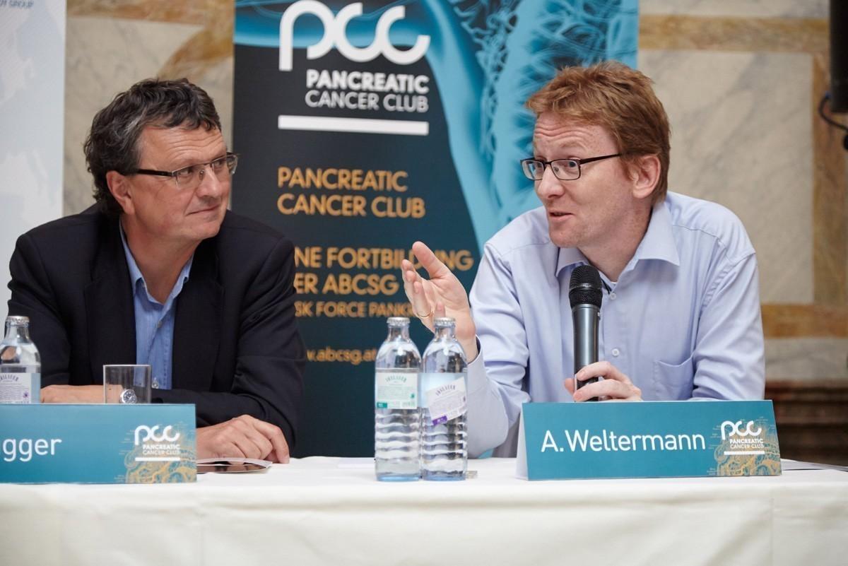 In der Abschlussdiskussion verstärkte Prim. Univ.-Doz. Dr. Ansgar Weltermann die internistische Seite.