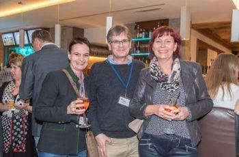 Maximilian Tomka vom BHB St. Veit/Glan mit charmanten Begleiterinnen.