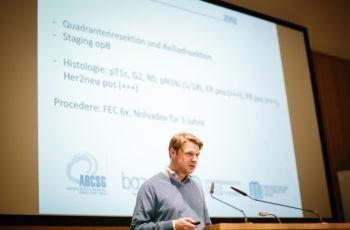 Georg Pfeiler stellte einen First-Line-Fall mit Pleuraerguss vor.