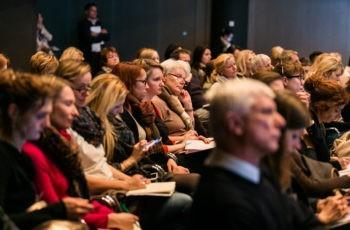 Auch im zweiten Rapporteurs-Block war das Publikum sehr aufmerksam.